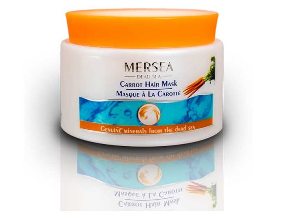 Mersea Dead Sea Hair Mask Carrot & Chamomile