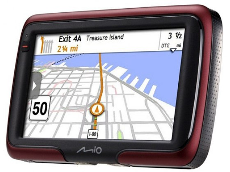 Mio Moov S401, Handheld Israel GPS Navigation System