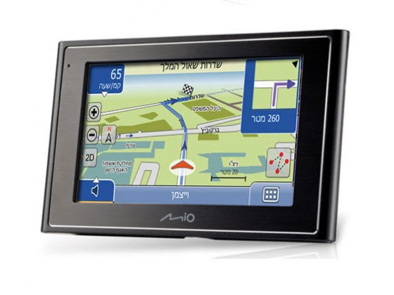 Mio Moove 300, Full Israel ROAD GPS System