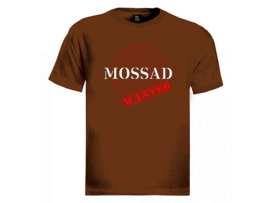 MOSSAD, Wanted (target) - Men's Israel T-shirt