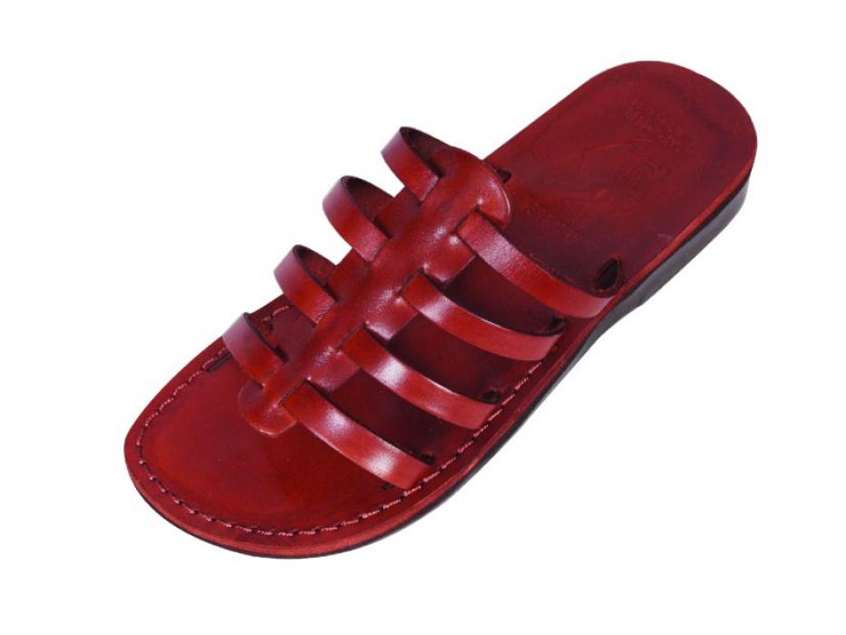 Multi-Band Quality Leather Landals - Shoham