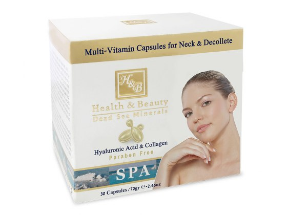 Multi-Vitamin Capsules for Neck Anda Decollete by Health and Beauty
