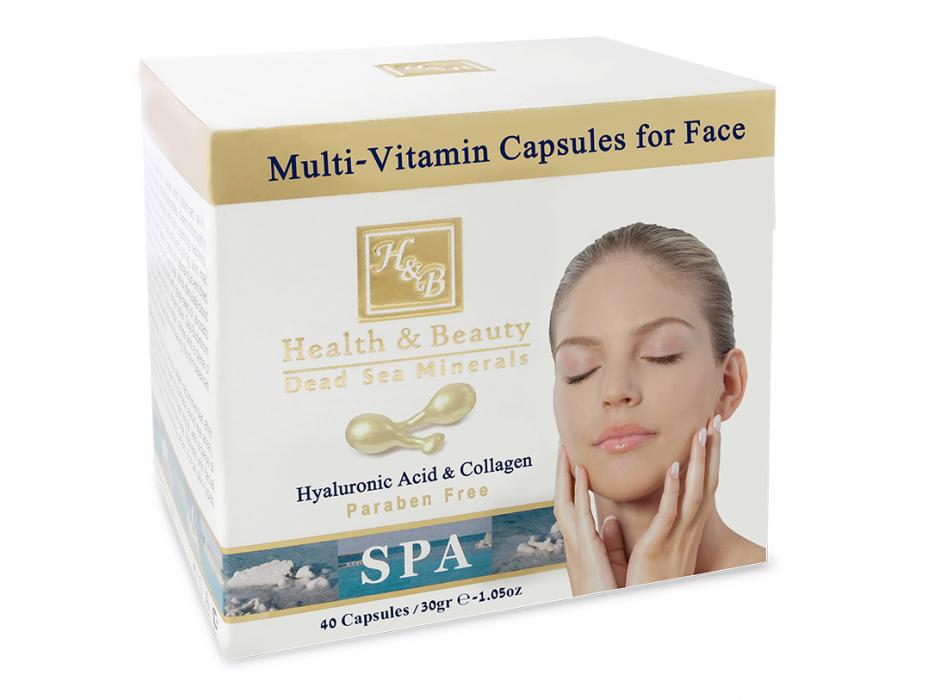 Multi-Vitamin Facial Capsules With Dead Sea Minerals
