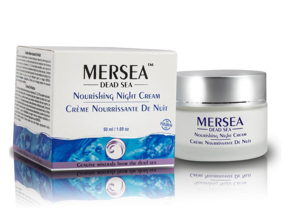 Nourishing Night Cream wth Dead Sea Minerals