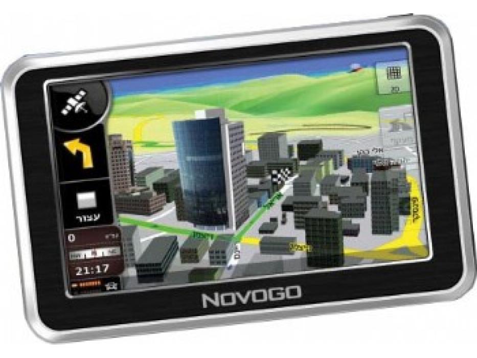 Novogo I905, Full Israel  GPS System + USA AND  W. Europe Maps