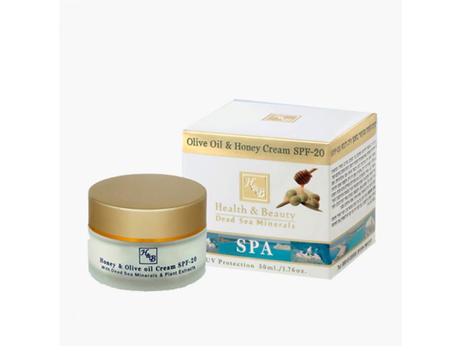 Olive Oil & Honey Dead Sea Minerals Face Cream SPF 20