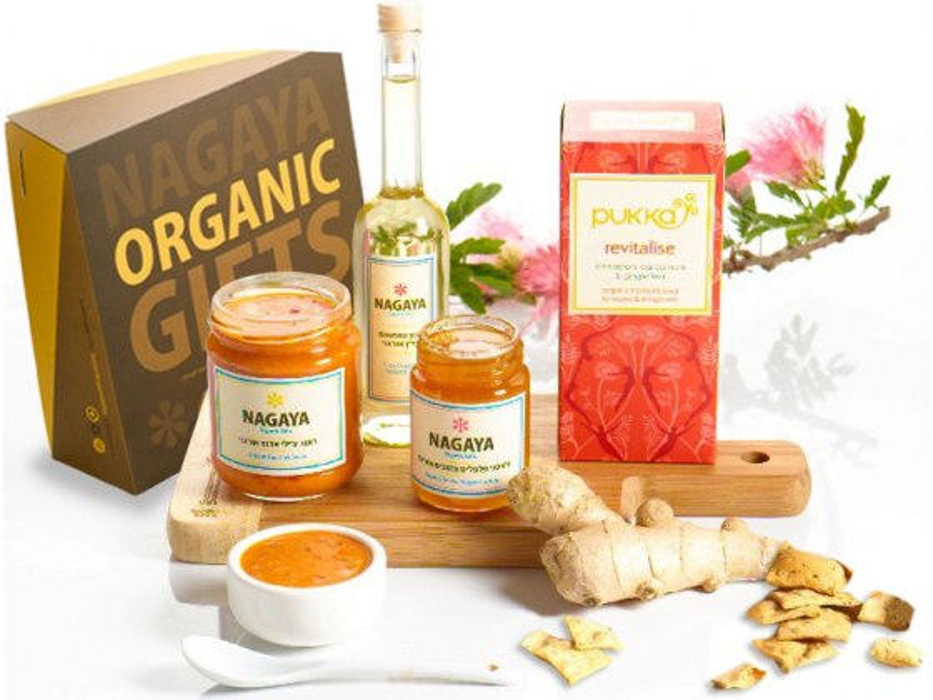 Organic Far East Treats - Kosher Gift Basket