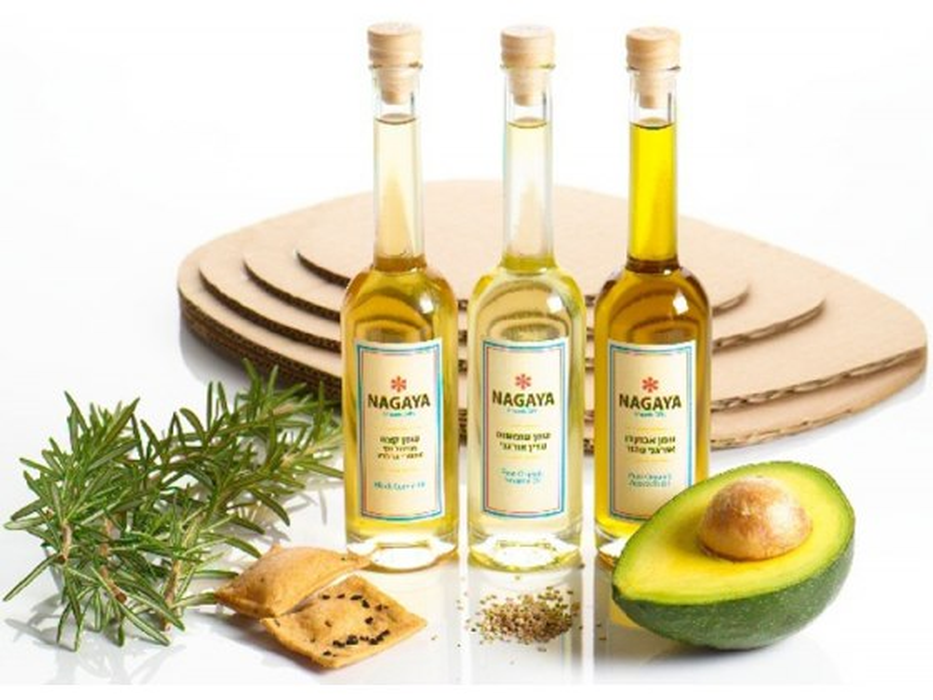 Organic Triad of Oils- Kosher Gift Basket