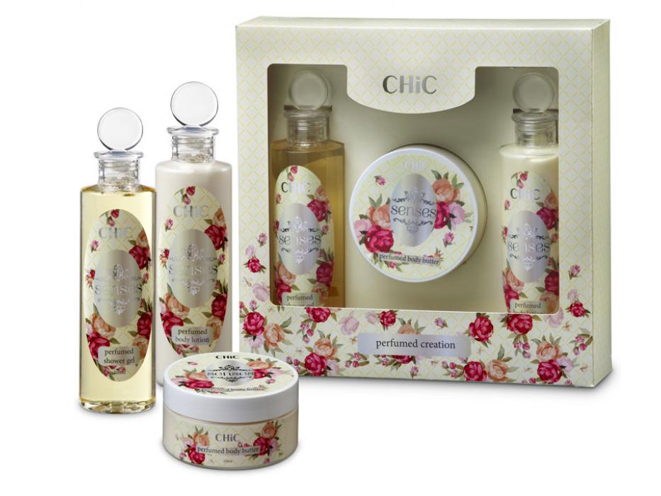 Oriental Floral Fragrance Bath and Body, Dead Sea Gift Set