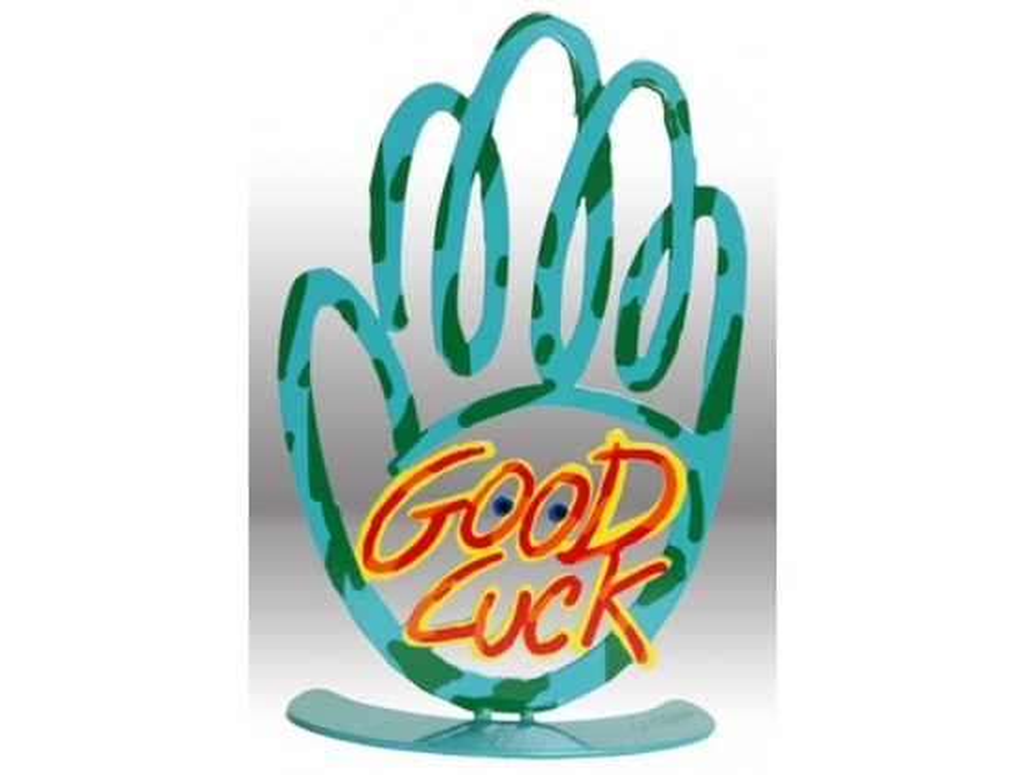 David Gerstein Free Standing Hamsa Good Luck
