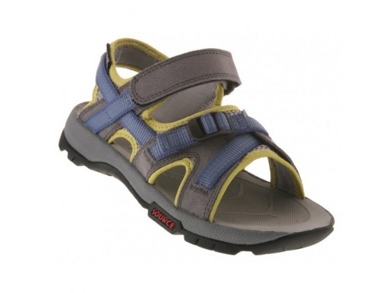 Oryx Kids Source Sandal - Border Blue