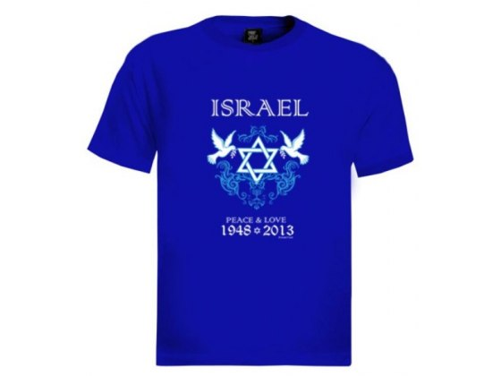 Peace and Love Israel T-Shirt