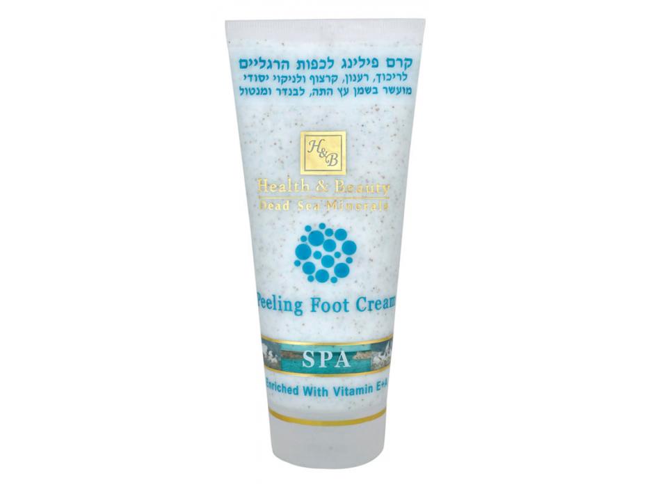 Feet Peeling Cream, Dead Sea Coesmetics