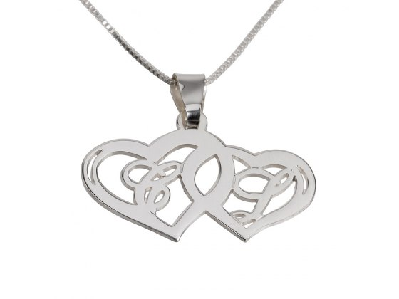 The Perfect Name Necklace for That Special Couple