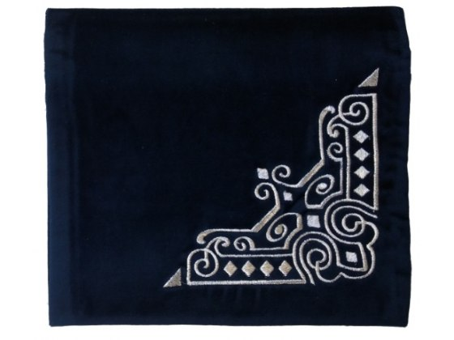 Personalized Royal Navy Blue Velvet Tallit Bag