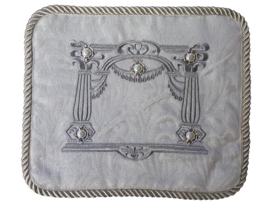 Personalized White Velvet Tallit Bag