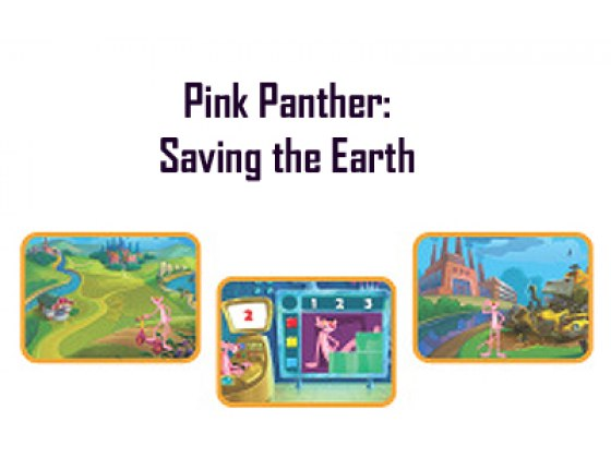 Pink Panther Educational Kids' Computer Game, Compedia