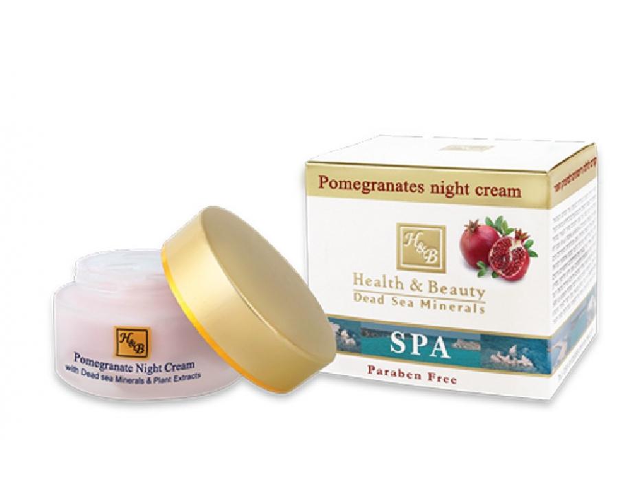 Pomegranates Night Cream, Dead Sea Minerals