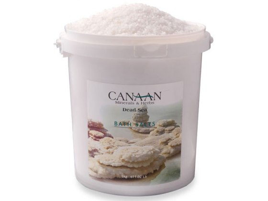 Pure Natural Dead Sea Salt 5 Kg (11 lbs) Bucket , Bulk