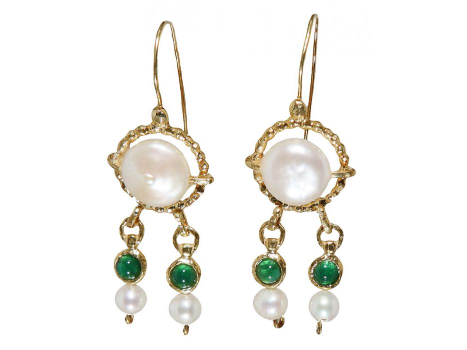 Queen Helene Hanging Earrings, Jewish Jewelry