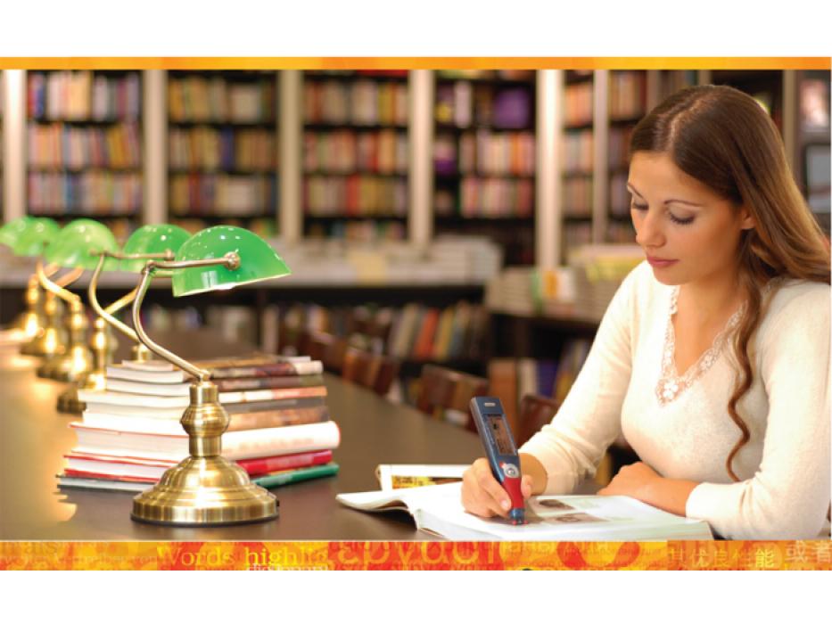 Using Handheld Pen Scanner Translator