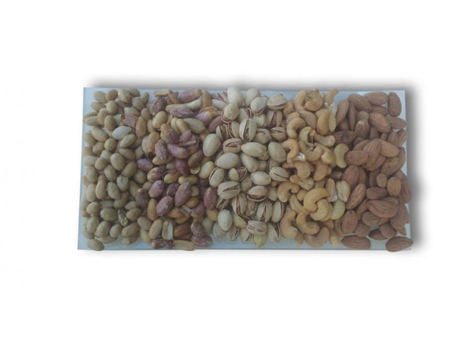Rectangular Assorted Nut Platter