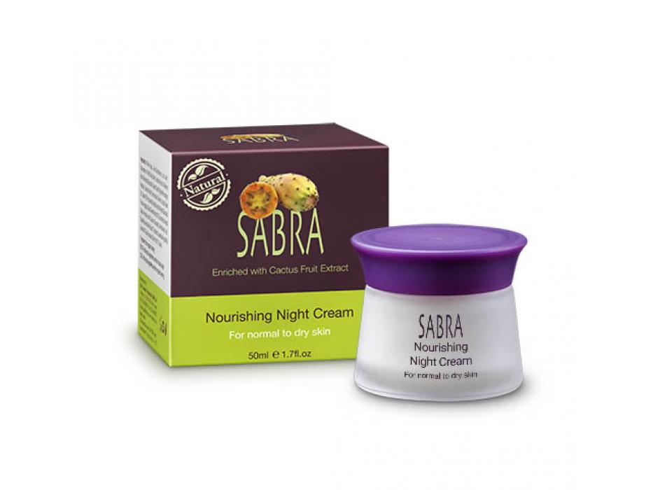 Sabra Nourishing Night Cream For Normal to Dry Skin