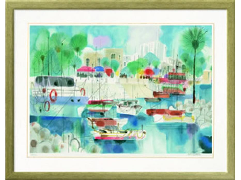 Samuel Katz - Mooring on Sea Galilee - Israel Art