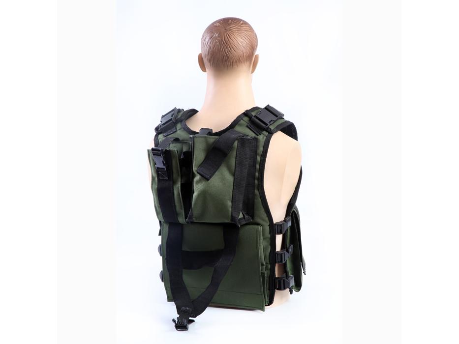 SAW Gunner Vest - Back View