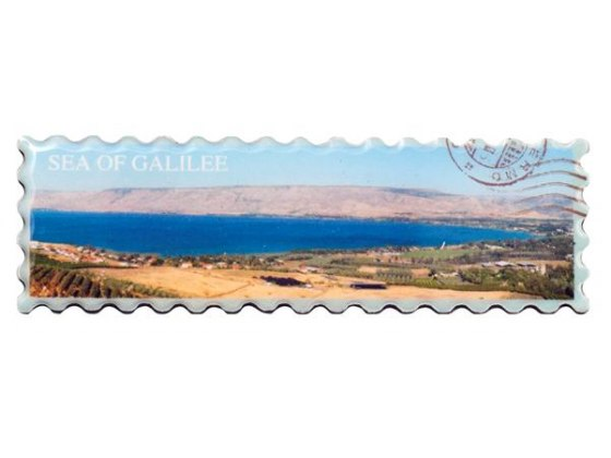 Sea of Galilee Panorma Fridge Magnet, Souvenirs Israel