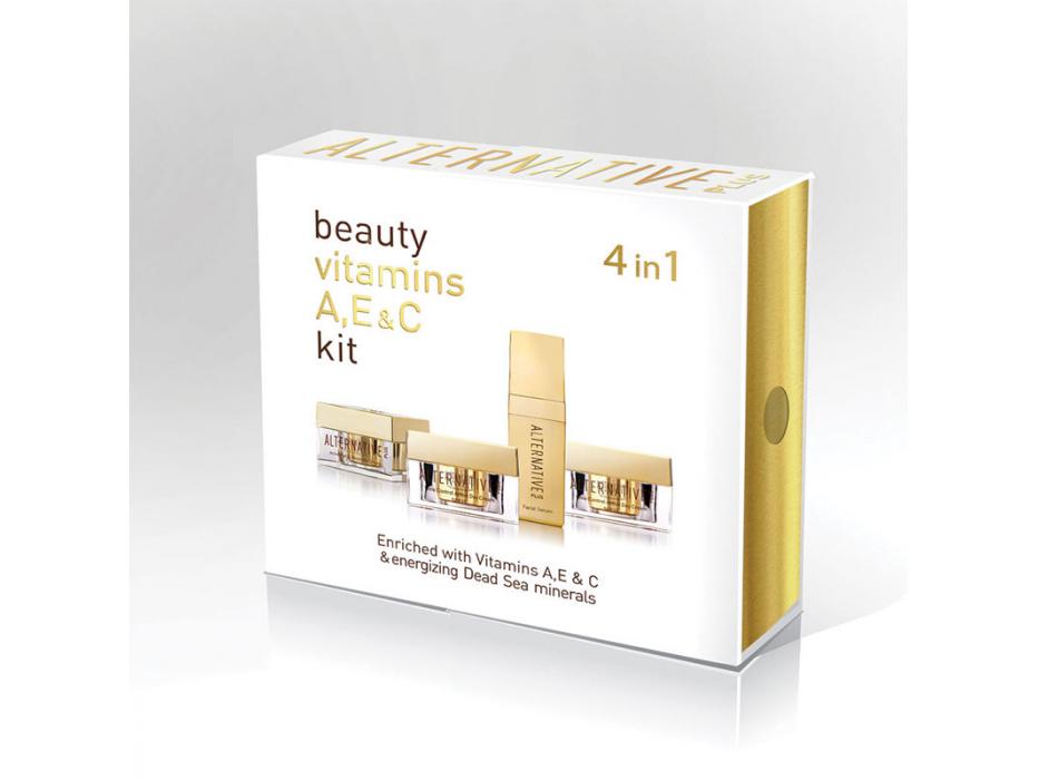 Sea of Spa Dead Sea Cosmetics Alternative Plus 4 Facial Care Products Kit