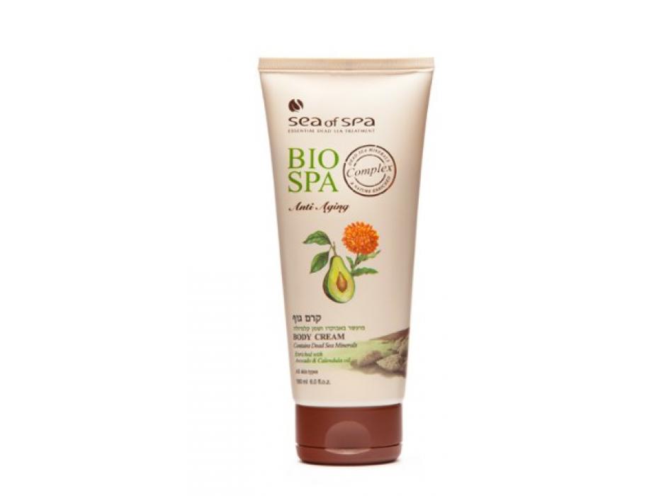 Sea of Spa Dead Sea Cosmetics Avocado and Sea Buckthorn Body Cream