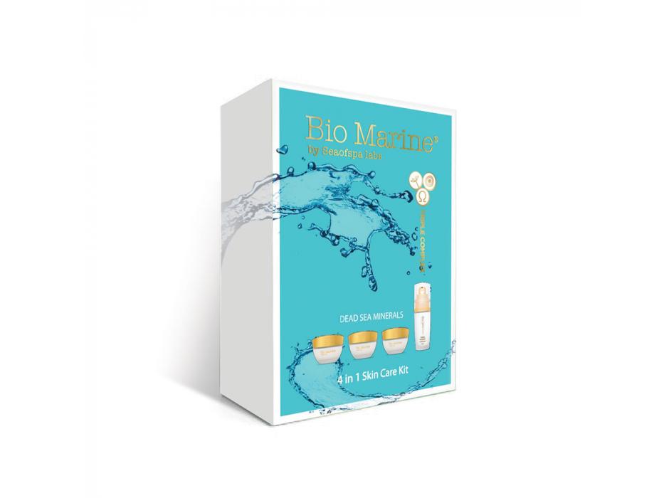 Sea of Spa Dead Sea Cosmetics Bio Marine 4 Facial Care Products Kit