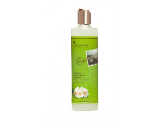 Sea of Spa Dead Sea Cosmetics Green Tea Jasmine Bloom Shower Gel