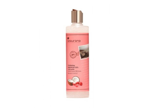 Sea of Spa Dead Sea Cosmetics Litchi and Coconut Milk Shower Gel