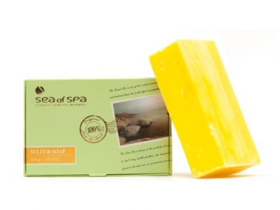 Sea of Spa Dead Sea Cosmetics Sulfur Soap