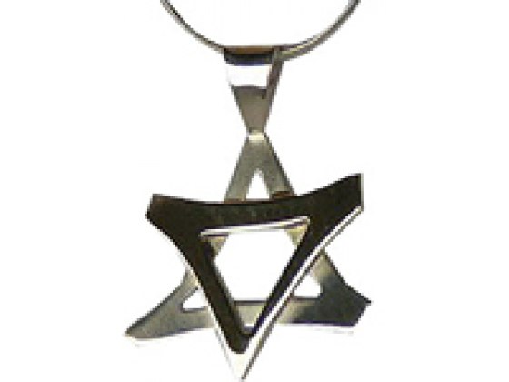 Shaked Sterling Silver Star of David - Big Size