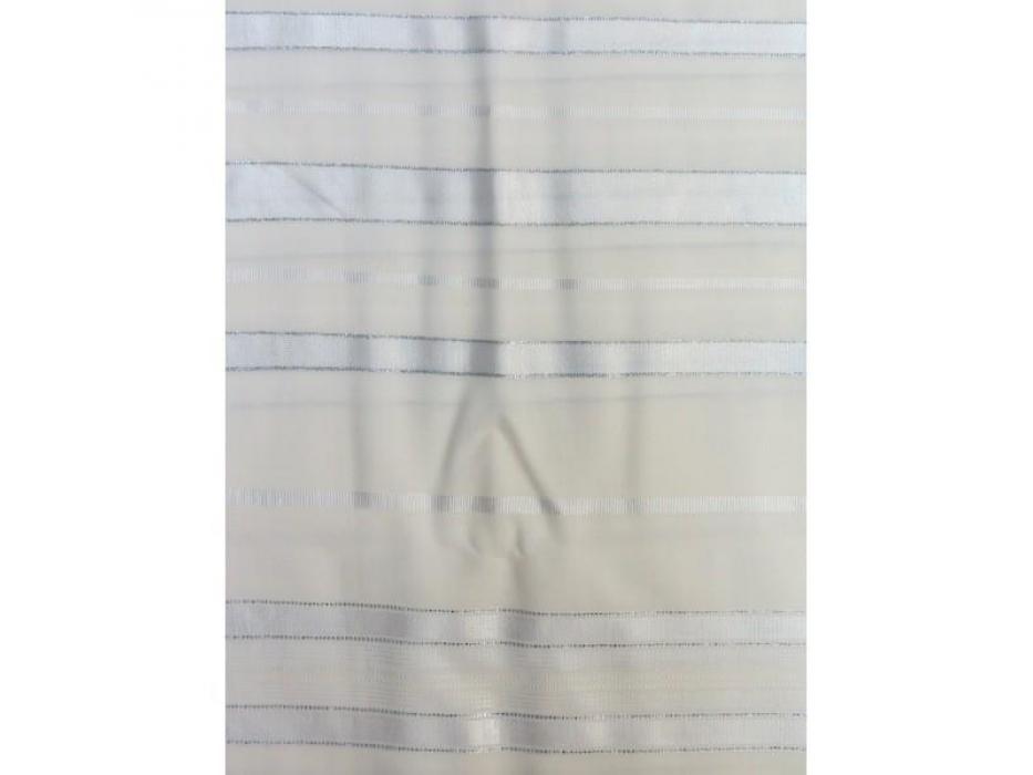 Shiny and Silver Stripes Prima AA Wool, Tallit Prayer Shawl