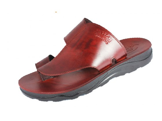 Simple and Stylish Leather Slip-on Sandals - Givon
