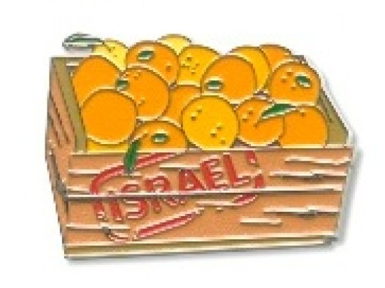 Souvenirs from Israel, Oranges Fridge Magnet
