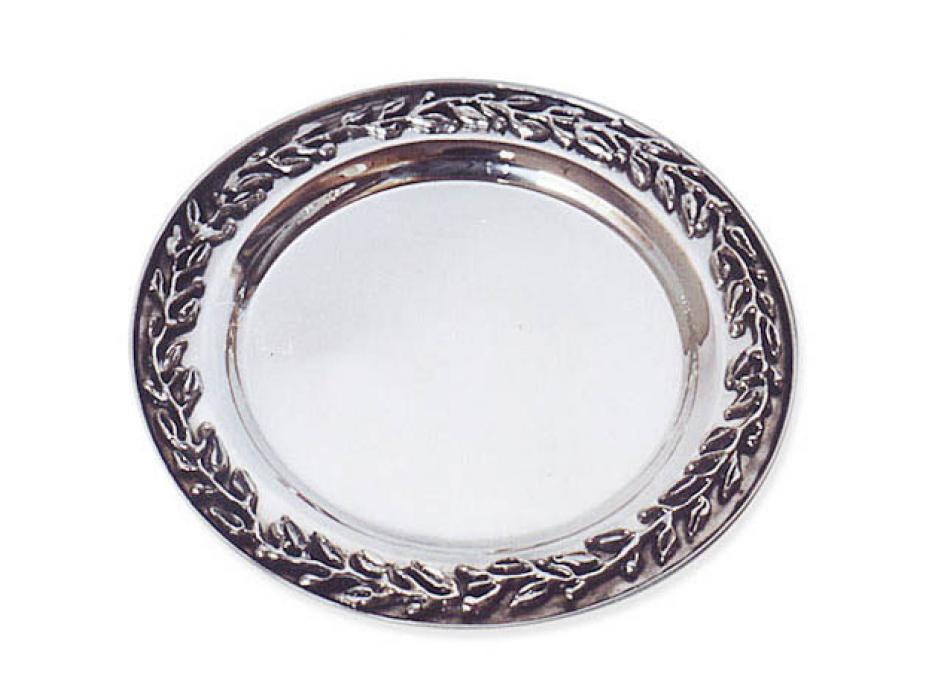Sterling Silver Leaf Saucer