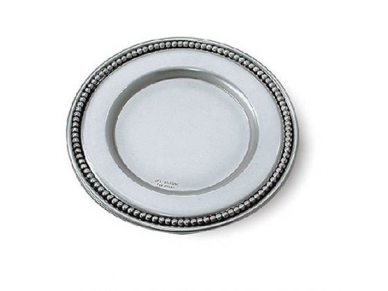Sterling Silver Pearls Saucer