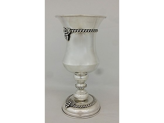 Sterling Silver Grapes Elijah Cup