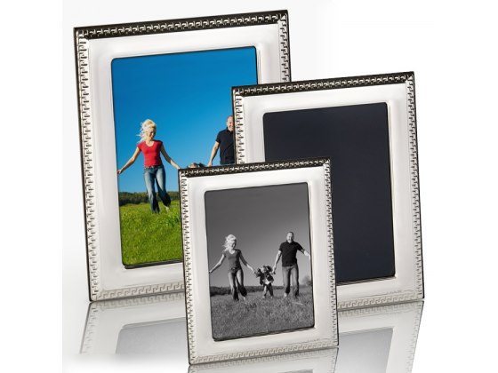Sterling Silver Picture Frame - Set of 3 Style #811