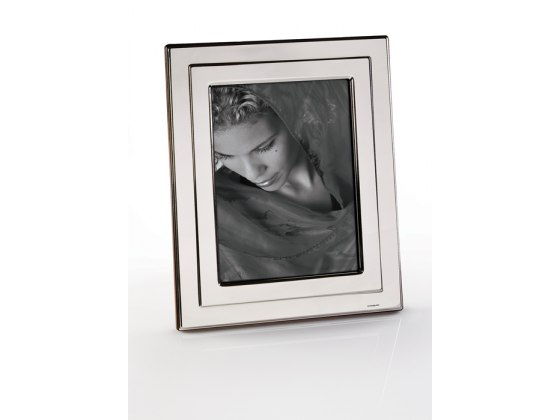 Sterling Silver Picture Frame - Small - Wallet size Style #819