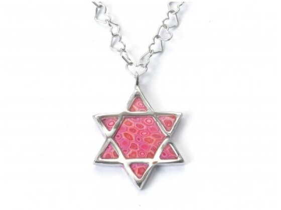 Sterling Silver Star of David Pendent by Adina Plastelina