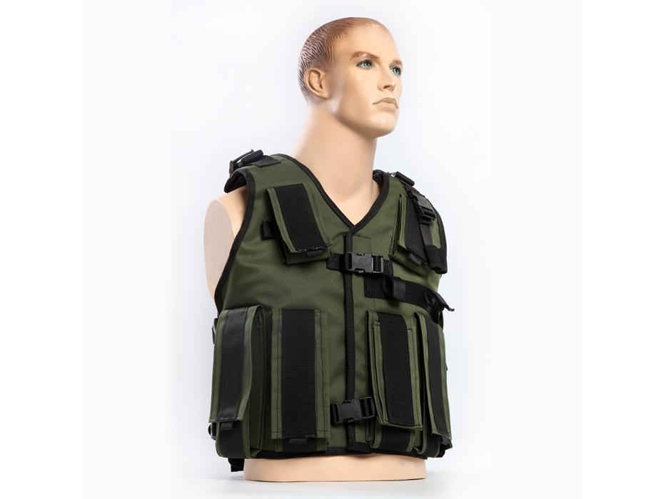 Tactical Radio Vest for Military Radio Operators