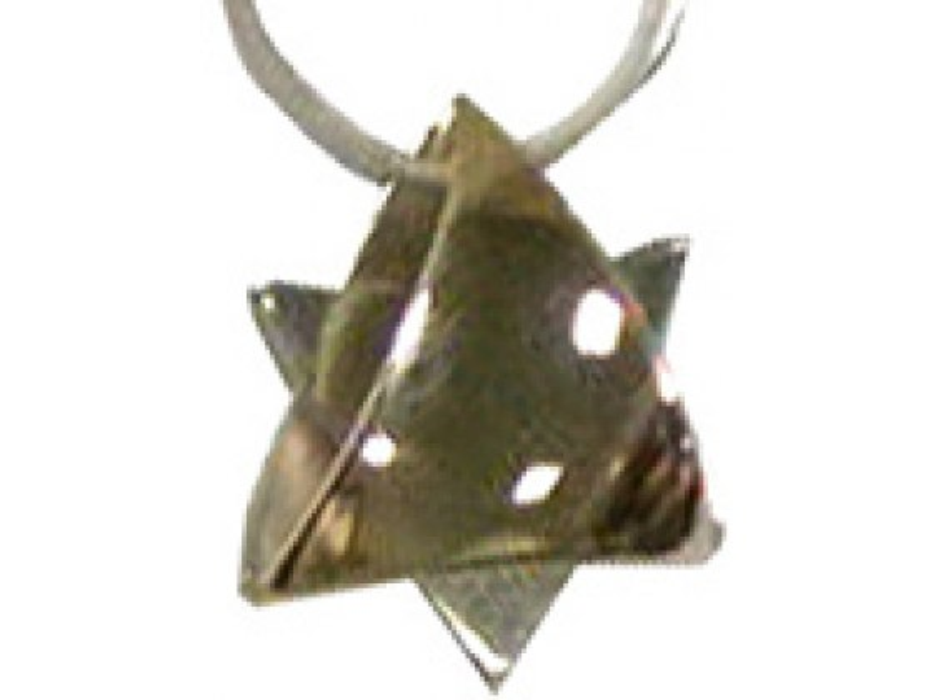 Talia  Gold & Silver Star of David - Small Size