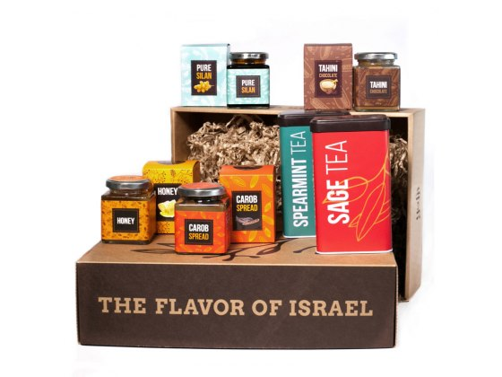Taste of Israel Gift Box with Spearmint and Sage Teas