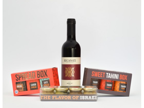 Taste of Israel Purim Gift Box with Recanti